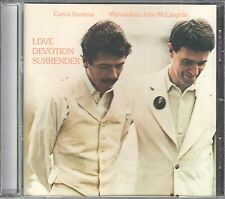 Carlos Santana/John McLaughlin CD LOVE DEVOTION SURRENDER (c) 1973/2003
