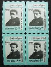 Uzbekistan 1996 Faijzulla Khodjaev Politics Block/4 Michel #127 CV €40 MNH