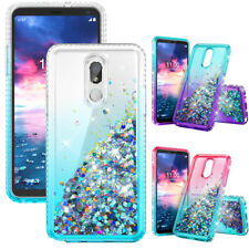 For LG K40/Xpression Plus 2/Solo LTE /Harmony 3 Case Bling Shockproof TPU Cover