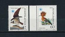 Yugoslavia 1728-9 MNH, Birds, 1985