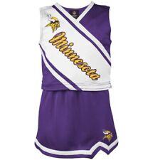 Outerstuff NFL Little Girls (4-6X) Minnesota Vikings Cheerleader Two Piece Set