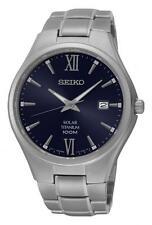 Seiko Titanium Strap Analog Wristwatches