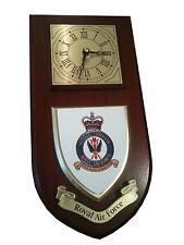 RAF Royal Air Force Bomber Command Regimental Wall Plaque & Clock