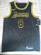 Kobe Bryant Black Mamba Lakers Swingman Jersey #8 and #24