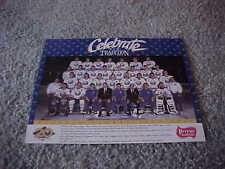 1989 Buffalo Sabres NHL Hockey Team Photo