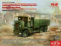ICM Leyland Retriever General Service WWII 1:35 Plastic Model Kit ICM35602