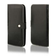 HQ Buch Klapp Tasche Flip Book Hülle Etui für Xiaomi Mi5S SCHWARZ