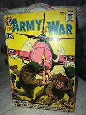 Our Army at War aug no. 121 1962 Superman Natural Comics DC