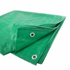 Tarpaulin Sheet Tarp Cover Ground Waterproof 3.5m x 5.4m / 11.5ft x 16.4ft TE3