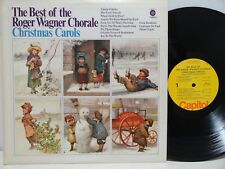 The Best Of The Roger Wagner Chorale Christmas Carols LP 2591 Capitol Yellow