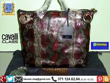 Borsa donna Animalier Pitone Roberto Cavalli Class Josephine Shopper FASHION BAG