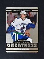 2018-19 18-19 UD Upper Deck Synergy Cast for Greatness #CG-8 Brock Boeser