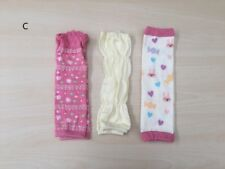 3x Baby Infant Toddler Girl Fun Colours Leg Warmers, brand new VERY soft