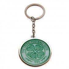 Celtic FC Keyring Football Metal Team Club Green Shamrock Soccer Gift Fan New
