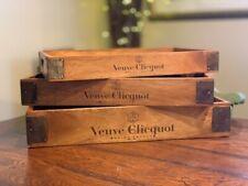 Rustic Wooden Trays, Veuve Clicquot