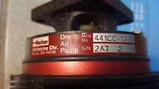 Parker Dry Air Pump SUCTION PUMP 441cc per aereo for Airplane