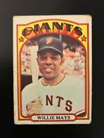 1972 Topps Willie Mays #49 San Francisco Giants
