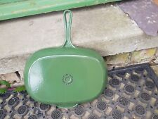 Le Creuset, Green Skillet, Frying Pan, 32cm, cast iron