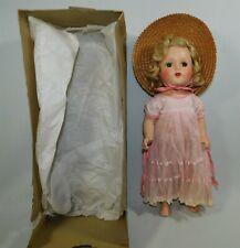 "All Original Vintage 15"" Nancy Composition Doll In Original Box R&B Arranbee"