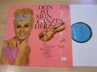 LP Franz Lehar Dein ist mein ganzes Herz  Melodien  Vinyl Baccarola 72 339 ZE