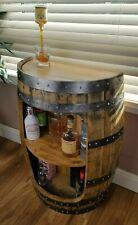 whisky barrel handcrafted bespoke Drinks cabinet / Cocktail cabinet / Mini Bar