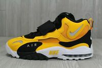 41 Nike Air Max Speed Turf Trainers Gold Black Steelers Shoes 9.5-13 BV1165-700