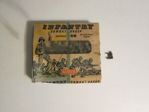 1960 Airfix Infantry Combat soldiers in box unused