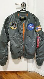 Alpha Industries NASA Bomber Jacket SIZE S