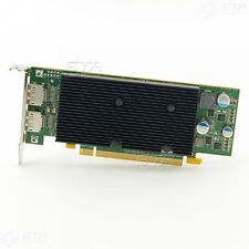 Matrox M9128 LP PCI-E X16 Dualhead Displayport Graphics Card, 1 GB Memory