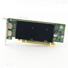Matrox M9128 LP PCI-E X16 Dualhead Displayport Graphics Card, 1 GB Memory