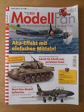 Zeitschrift ModellFan, April 2013.