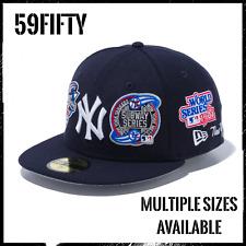 New Era 59Fifty Fitted Cap New York Yankees Navy NYY Subway Series World Series