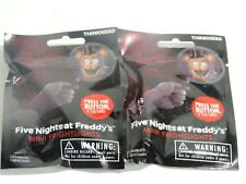 Five Nights at Freddys Mini Fright Light Mystery Blind Bags Lot of 2 Chica Foxy
