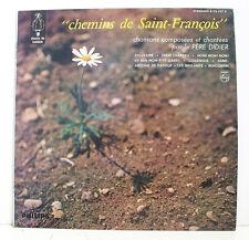 33T 25cm Père DIDIER Dédicace CHEMINS de Saint François SYLVESTRE PHILIPS 76 537