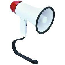 10 Watt Handheld Megaphone Siren Loudspeaker Sports Security Coach Cheerleader