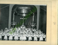 Lg Photo 1964 Denver Colorado-St Mary's Communion Group