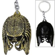 Aliens vs Predator Keychain LIMITED EDITION Yautja Hunter Metal Bronze Finish