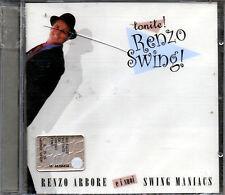 ARBORE RENZO TONITE SWING MANIACS CD 2002 SEALED
