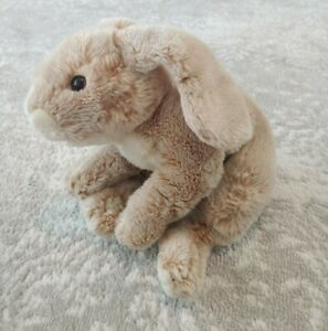 """Animal Alley 2000 Brown Tan Realistic Bunny Rabbit Plush Canadian Exclusive 12"""""""
