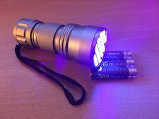 LED Luz Negra UV Antorcha, Gato, Perro, mascota, roedores, detector de mancha de orina Animal