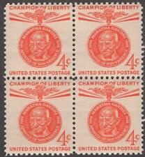 Scott # 1174 - US Block Of 4 - Mahatma Gandhi - MNH - 1961