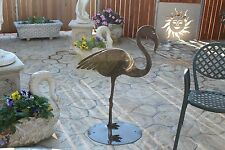 Statue e ornamenti da giardino in ferro ebay for Fenicottero arredamento