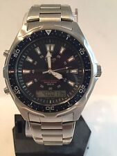 Casio Men's Digital/Analog Watch, AMW-320RD-2AV. Stainless Steel, Waterproof.New