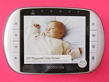Motorola MBP36S REPLACEMENT MBP36SPU Parent Baby MONITOR NO Power Cord