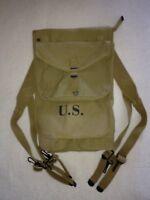HAVERSACK M1928 US WW2 MILITARIA JEEP
