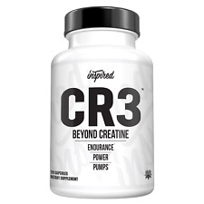 Inspired CR3 Creatine Hydrochloride/Agmatine/Pumps/Build Muscle/Free Shipping