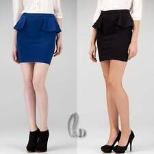 Cotton Blend Formal Skirts for Women