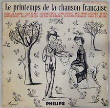 Peynet 33 tours 25 cm Le printemps de la chanson française