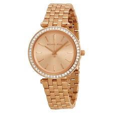 Michael Kors Mini Darci Rose Gold Tone Dial Steel Ladies Watch MK3366-AU