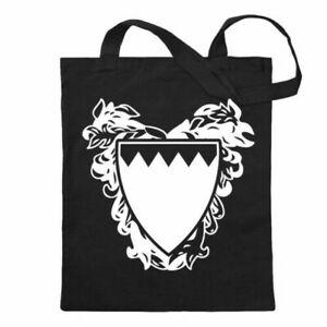 Bahrain Emblem Cotton Bag Cloth Bag Shoulder Bag Long Handle